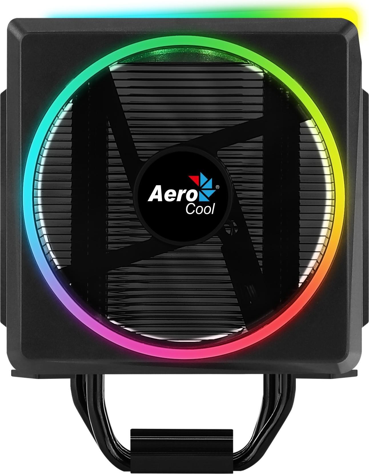 Imagen de Ventilador AEROCOOL con disipador 120mm 145w (CYLON4) | grande (2)